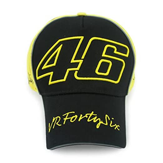 Buy YourShoppingCube Moto GP Racing Yamaha VR46 Rossi Baseball Cap (Black  Yellow) Online at Low Prices in India - Amazon.in 3c6bd3cb877