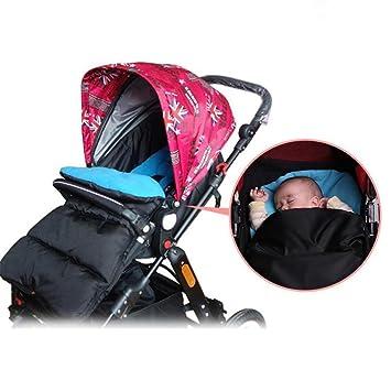 Manguito de pies universal de Gaddrt para carritos y sillas de paseo, azul