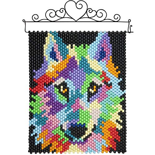 Herrschners® Abstract Wolf Beaded Banner Kit