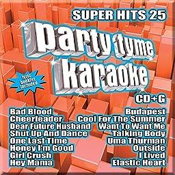 Party Tyme Karaoke - Super Hits 25 [16-song CD+G]
