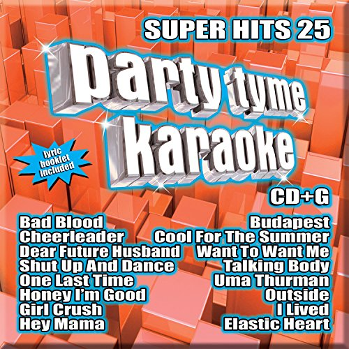 - Party Tyme Karaoke - Super Hits 25 [16-song CD+G]