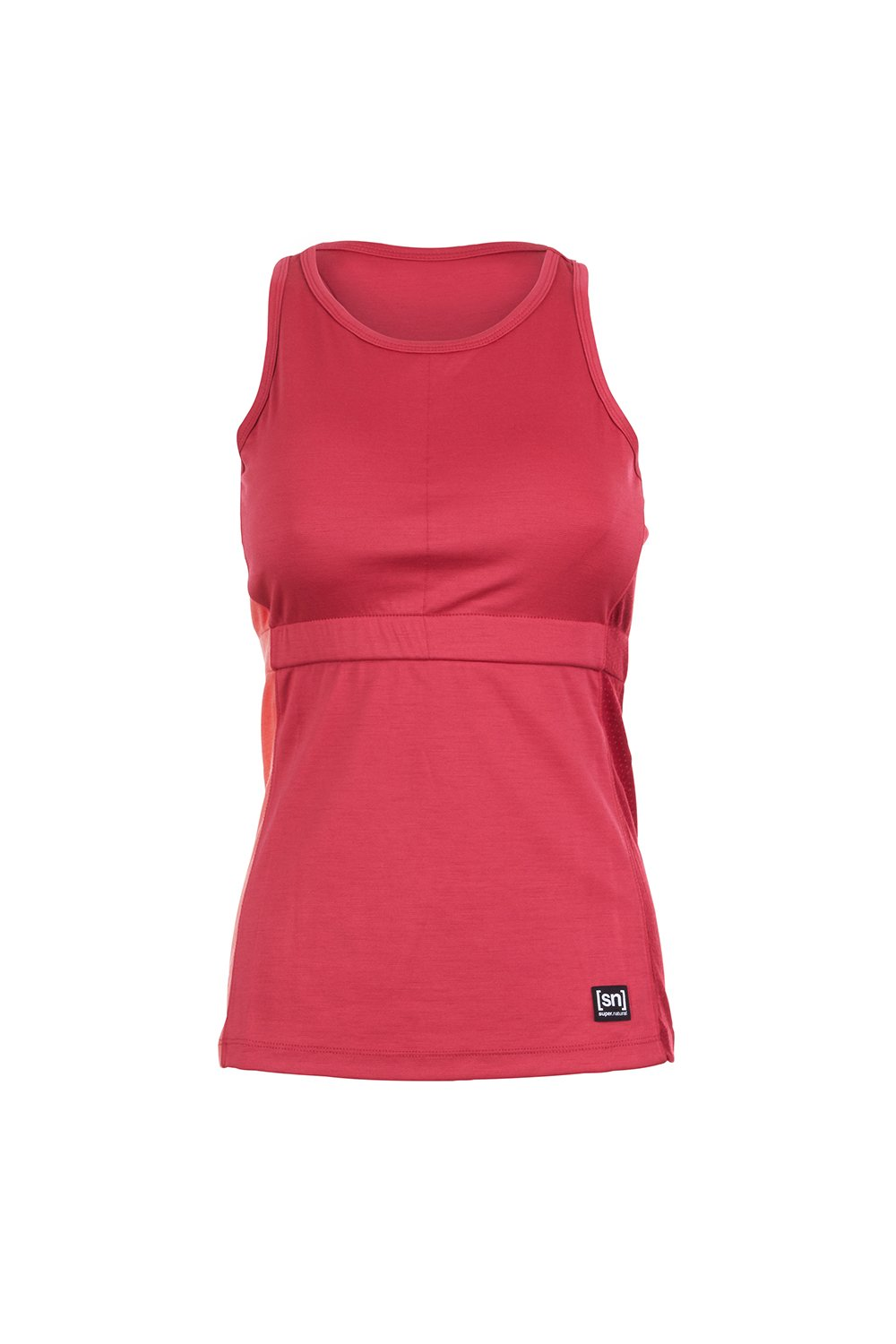 super. natural W Active Block Top Merino Women's Tank Top, Womens super.natural