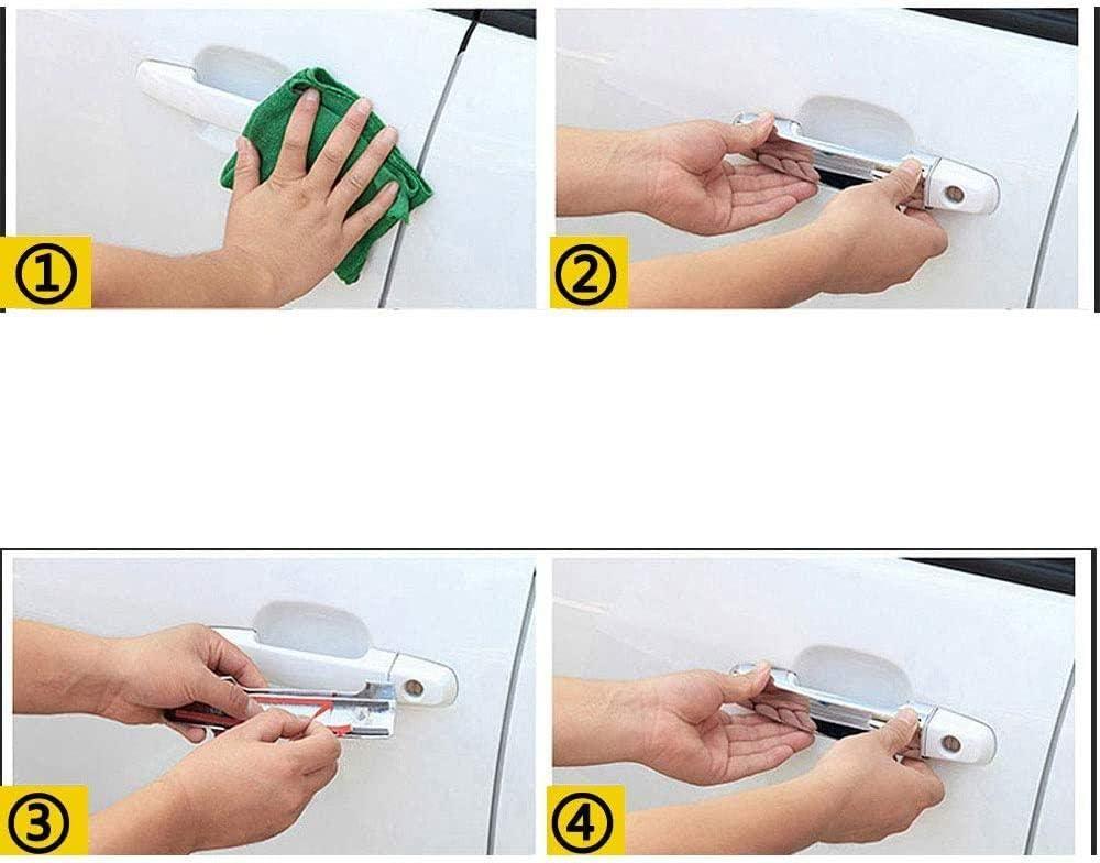 per Ford Transit Custom//Tourneo Custom 2013-2019 Copertura della Maniglia della Porta cromata Trim Car Styling per la Copertura della Maniglia della portiera dellauto