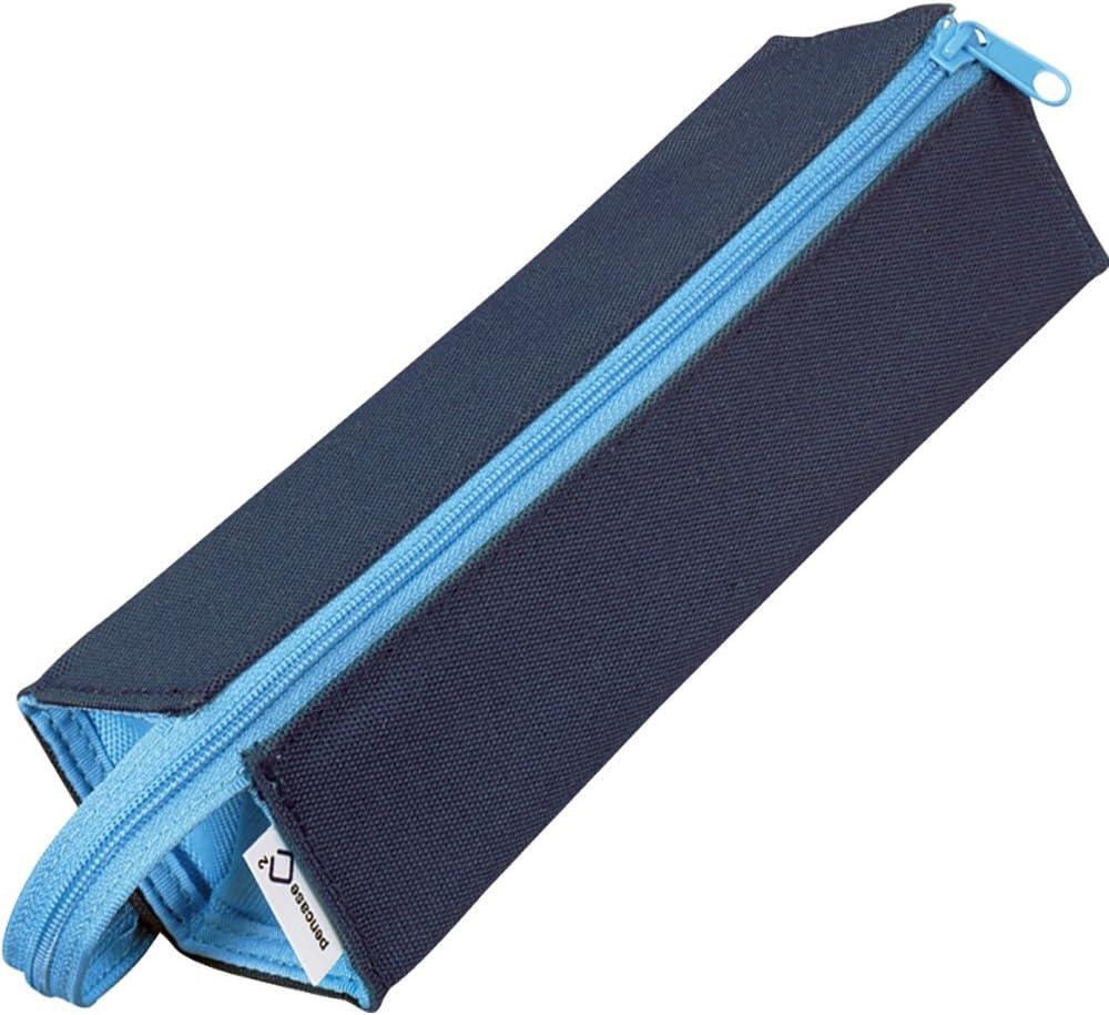 Kokuyo C2 Tray Type Pencil Case - Navy Light Blue (japan import): Amazon.es: Oficina y papelería