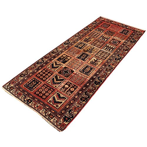10' x 4.2' Brown Color floral Rug, Wool Hand Knotted Rug, Floral design Oriental Rug, classic design. Code: S0101138 , Vintage Floor Rug,Traditional Fancy Carpet