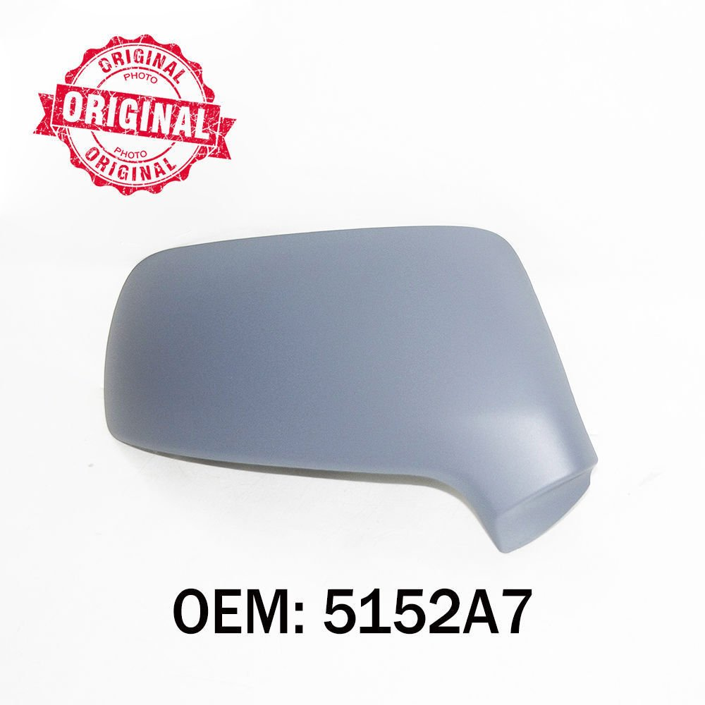 Right Side Wing Mirror Cover Primed For 3008 5008 C3 C4 OEM 5152A7