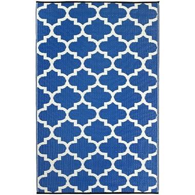 Tangier - Regatta Blue & White (5' x 8')