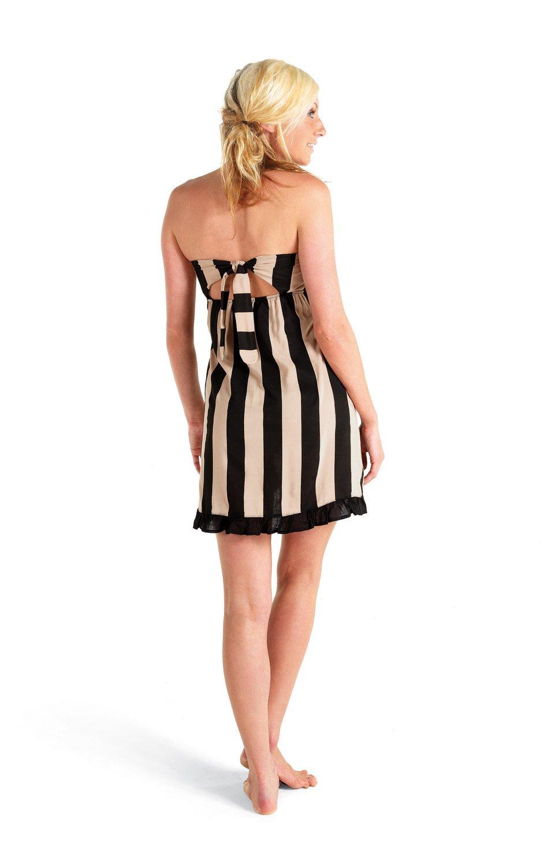 2d49771455 Amazon.com: Mud Pie Ladies Swim Cover up Dress- Strapless (Small): Health &  Personal Care