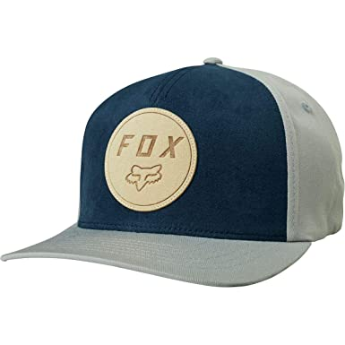 Fox Gorras Resolved Navy/Grey Flexfit: Amazon.es: Ropa y accesorios