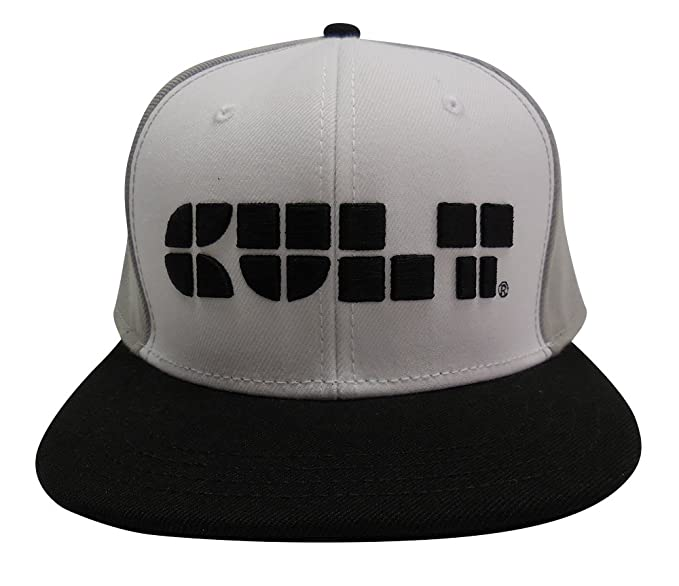 Cult of Individuality Men s 6 Panel Logo Snapback Hat in White at ... 7c194135281