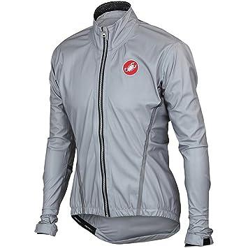 Castelli-Chaqueta impermeable Muur, color gris, color Gris - gris, tamaño medium: Amazon.es: Deportes y aire libre