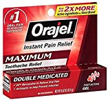Orajel Maximum Strength Gel Oral Pain Reliever, 0.42 Oz