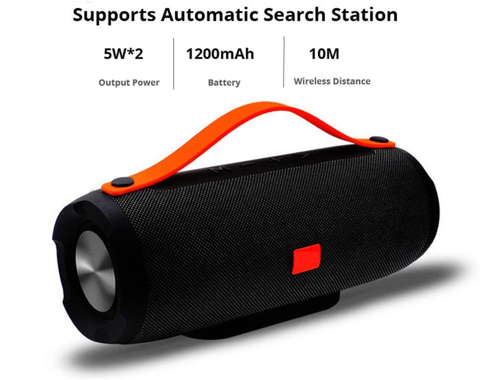 H1 Mini Portable Travel USB Bass Speaker for iPod iPhone MP3 Mobile Phone White
