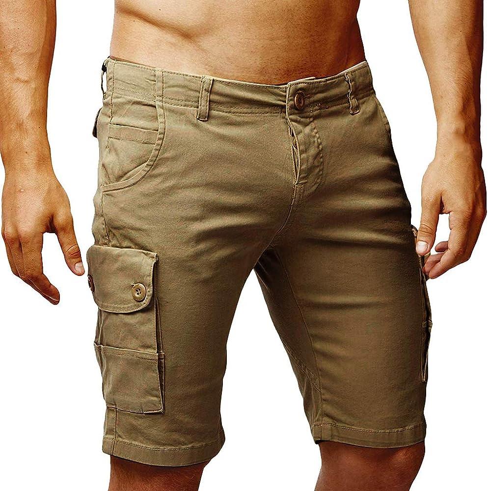 Premium Bi-Stretch Pantalones para Hombre: Amazon.es: Ropa y ...