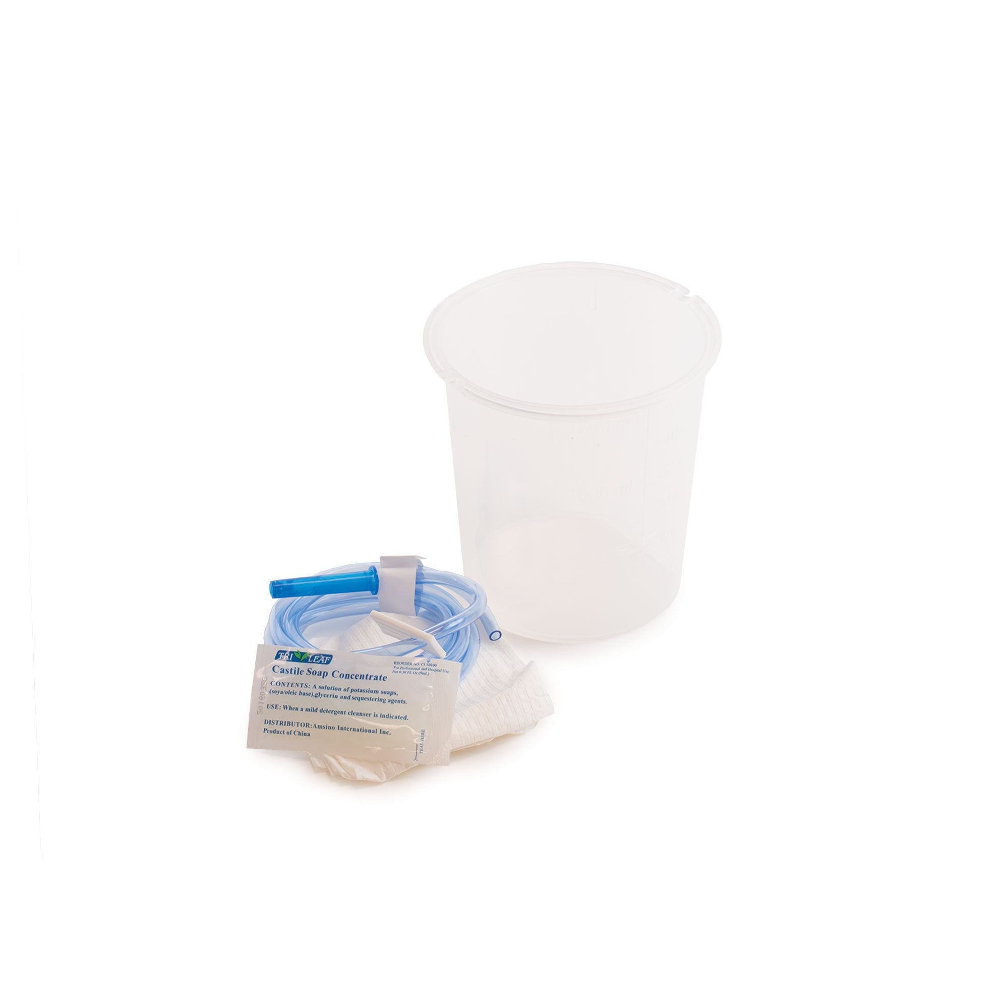 Cleansing Enema Set w/1500ml Bucket by Medegen Medical Products, Llc