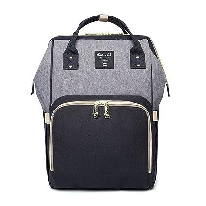 8d51cbb77f Messaggeri borsa per pannolini zaino bambino pannolino borse per mamma,  Wiscky multifunzione viaggio fasciatoio zaino
