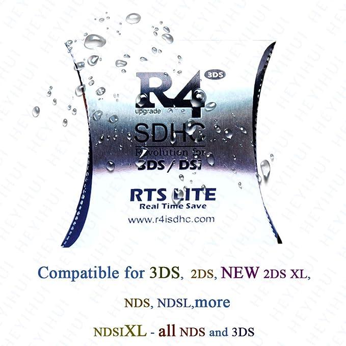 Tarjeta SD RTS Lite SDHC + 32GB 2019 para DS - DS Lite ...