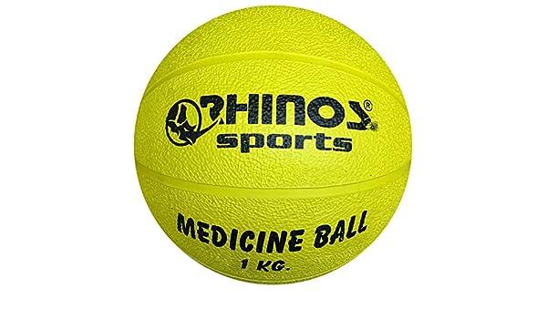 Rhinos Sports – Balón medicinal, pelota, varios colores ...