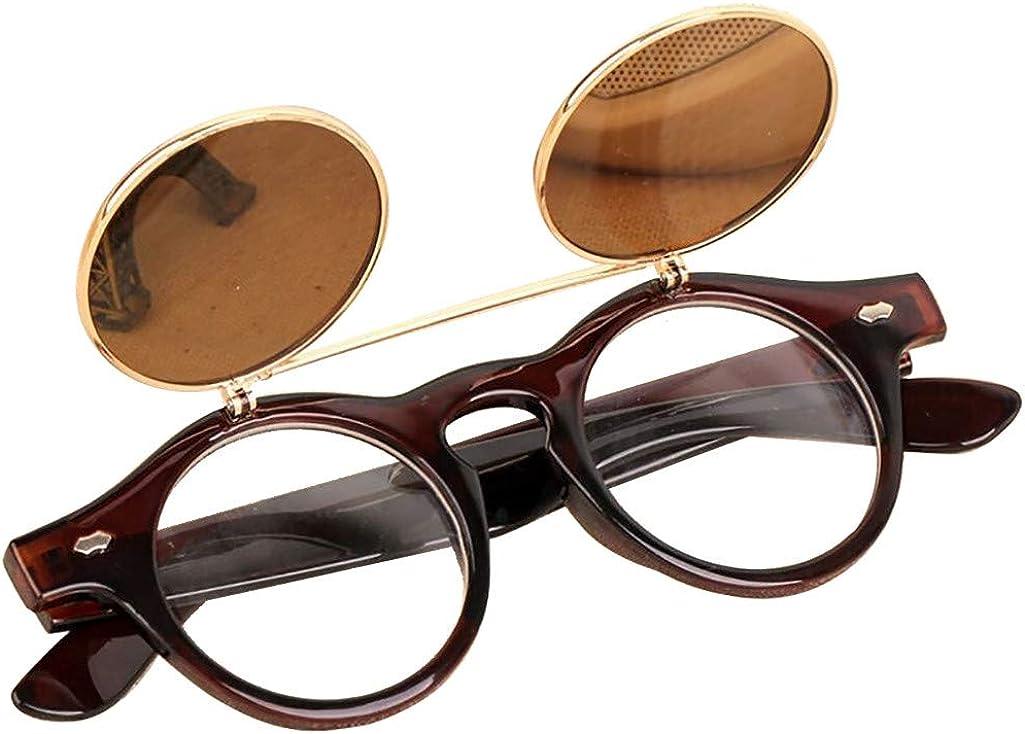 Amazon.com: JJLIKER - Gafas de sol redondas para hombre y ...