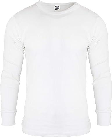 Men/'s Originals Thermal Long Johns gris foncé haut à manches longues T Shirt-Medium