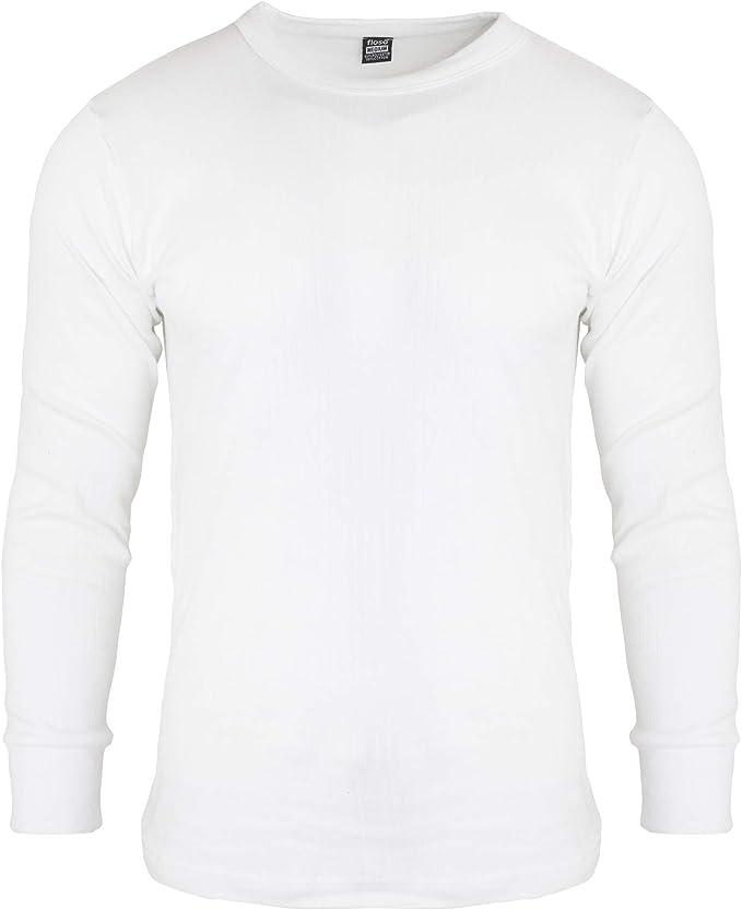 Floso® – camiseta interior térmica hombre, manga larga: Amazon.es: Ropa y accesorios