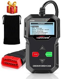 NEXPEAK NX301 OBDII Scanner Auto Diagnoseger/ät Fahrzeug Motordiagnose Codeleser f/ür OBDII//EOBD Fahrzeuge nach 2003