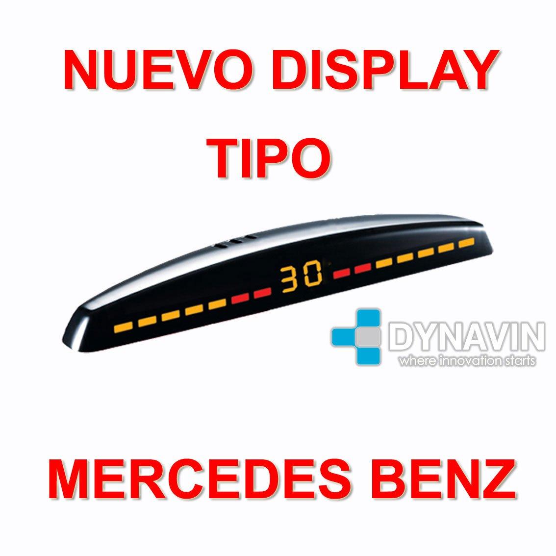 Dynavin Sensor de Parking con Display led Tipo Mercedes Benz ...