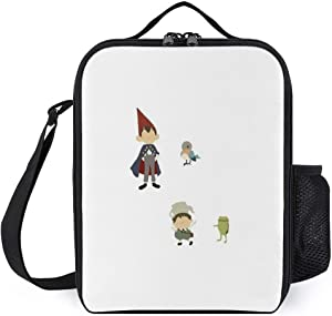 zhongmin Mini Minimalistic Over The Garden Wall Jigsaw Puzzle Portable Lunch Bag/Lunch Box/Lunch Tote/Picnic Bags Insulated Cooler Travel Organizer