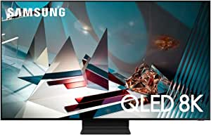 Samsung 82-inch Class QLED Q800T Series - Real 8K Resolution Direct Full Array 32X Quantum HDR 16X Smart TV with Alexa Built-in (QN82Q800TAFXZA, 2020 Model)