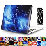 MacBook Air 11'' Case and Keyboard Cover, AICOO YCL 2-in-1 Beautiful Hard Case Cover With Keyboard Protector For MacBook Air 11.6 inch (A1465/A1370) - Lightning