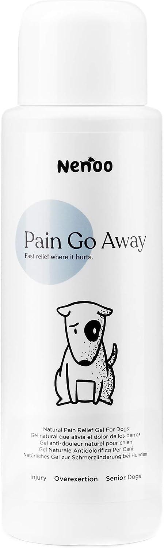 Nenoo Gel analgésico para Perros para Aliviar Problemas Inflamatorios y Dolor en Articulaciones Garra del Diablo y árnica Montana. 250 Mililitros