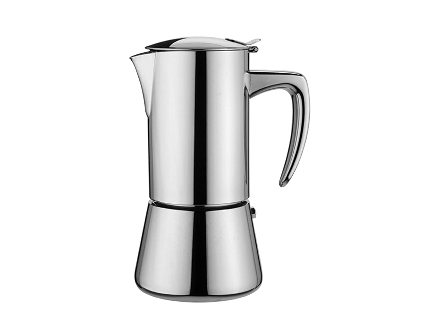 Forever Miss Diamond Inox Stove Top Espresso Maker - 6 Cup KAUFGUT_121903