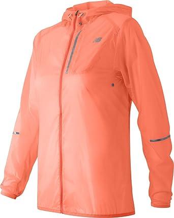 14a7d4d705129 New Balance Women's Lite Packable Jacket, Bleached Sunrise, X-Small