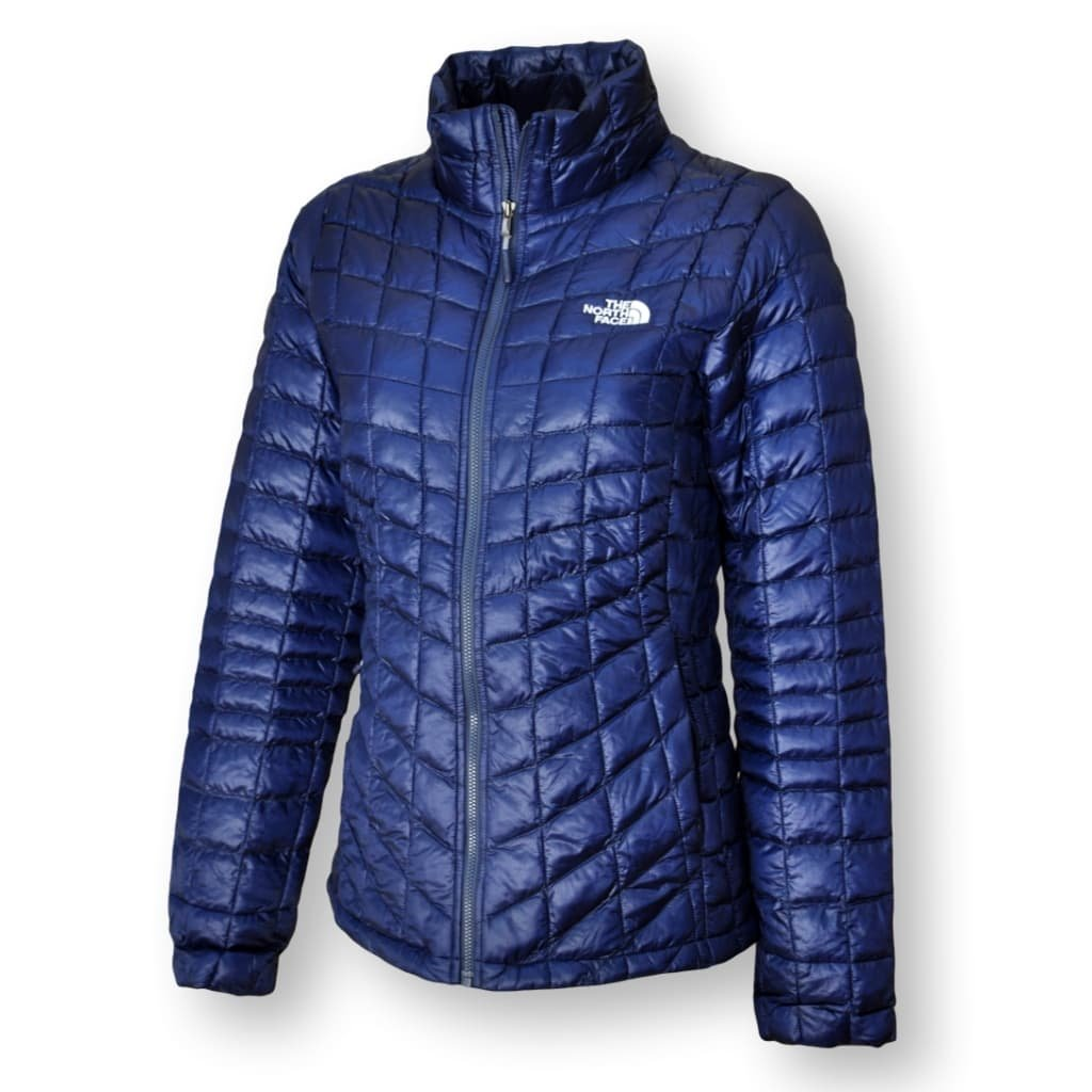 The North Face Women's Thermoball Full Zip Jacket, Cosmic Blue/Arctic Blue, X-Large