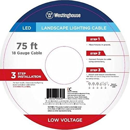 Landscape Lighting Cable 75 Feets