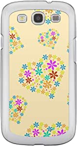 Loud Universe Samsung Galaxy S3 Love Valentine Printing Files A Valentine 151 Printed Transparent Edge Case - Yellow