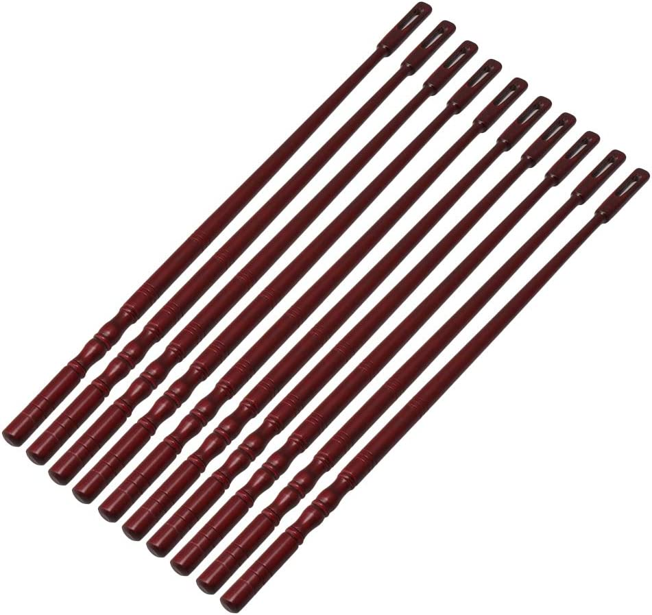 Mxfans Wood Flute Cleaning Rod Stick Swab Tool Flute for Instrument