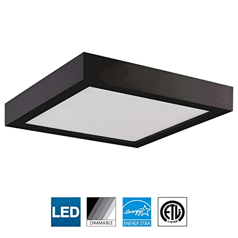 Sunlite Led 9 Inch Square Surface Mount Ceiling Light