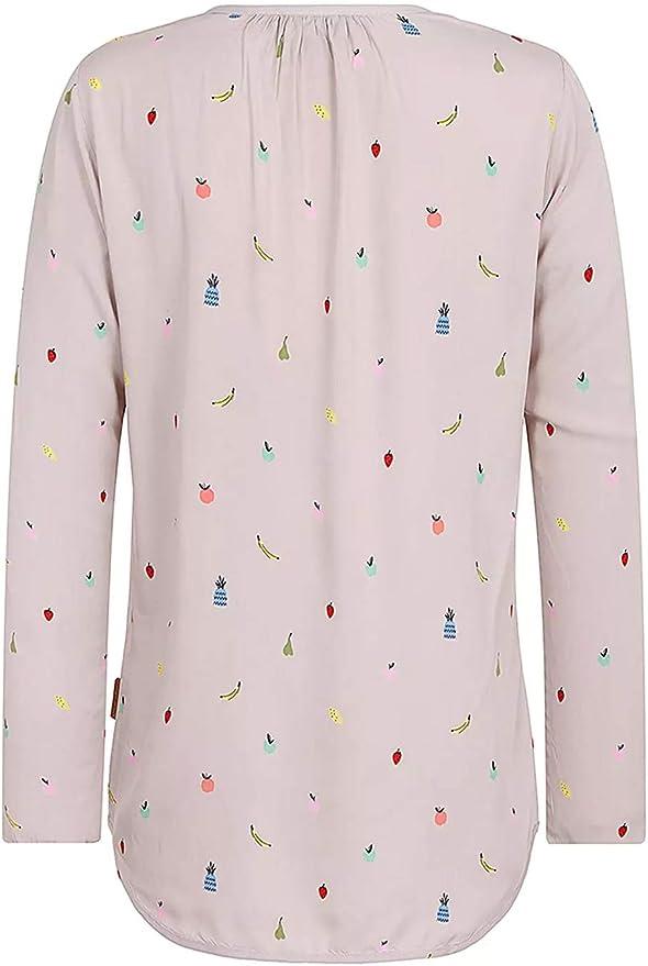 Naketano Damen Longsleeve Excuse My French III Shirt M
