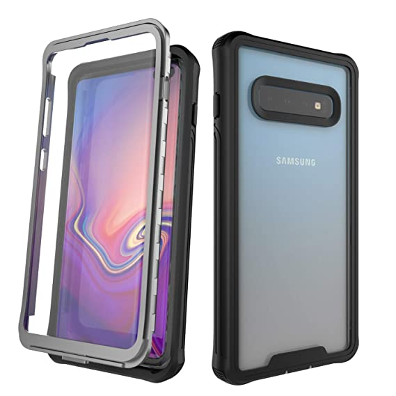 huge selection of 1c397 ad8c7 Galaxy S10 Plus Case,Mangix Rugged 360 Degree Protection Shock Absorption  TPU Bumper Protective Case for Samsung Galaxy S10 Plus New 2019 (6.4 Inch)  ...