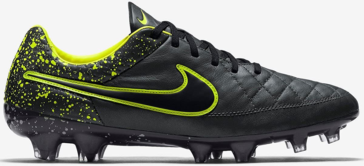 2108120b1 Amazon.com  Nike Tiempo Legend V FG Men s Firm-Ground Soccer Cleat (8)  Anthracite Black  Toys   Games
