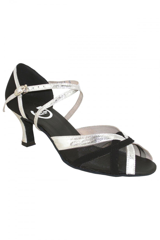 Noir Argenté RoTate Chaussures de danse de salon Wendy 39.5 7,5cm