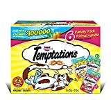 Temptations Variety Pack Treats for Cats, 6 Pack by 85g