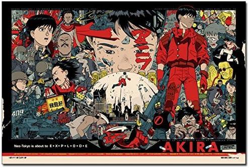 Akira Anime Poster High Quality Print Free Shipping