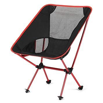 ZMCKD Silla Plegable de Camping Sillas Plegables portátiles ...