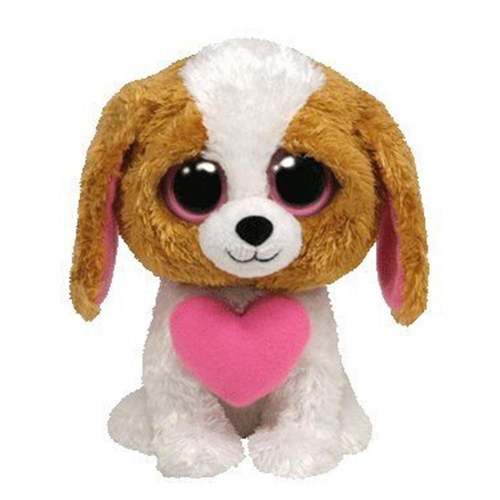 Ty Beanie Boos Buddy Cookie - Perro de peluche con corazón: Amazon.es: Juguetes y juegos