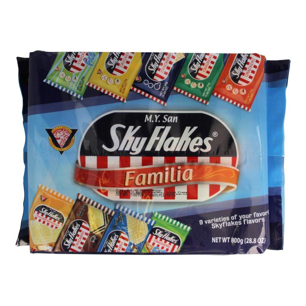 Skyflakes Crackers Familia Variety 9 Pack