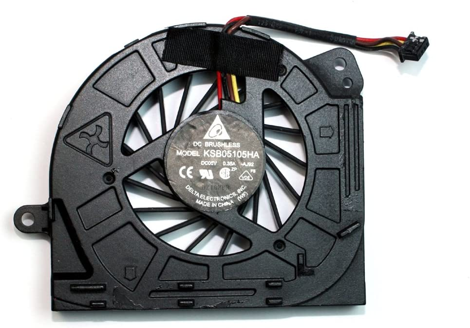 Lenovo Thinkpad Edge S420 Power4Laptops Replacement Laptop Fan with No Cover for Lenovo Thinkpad Edge E420s