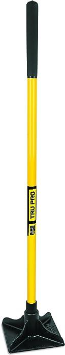 Truper 34387 8-Inch X 8-Inch Tamper, Long Steel Handle, 48-Inch