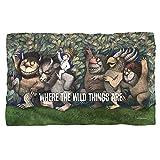 Wild Rumpus Dance -- Where The Wild Things Are -- Fleece Throw Blanket